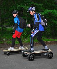 Ovladač elektrického skateboardu